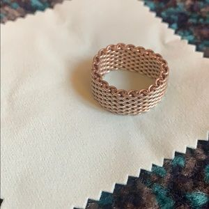 Tiffany & Co. Jewelry - TIFFANY & CO mesh ring